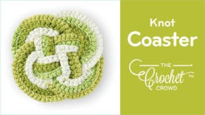 Crochet Knot Coaster