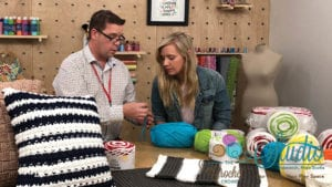 Behind the Scenes at JOANN Fabrics & Crafts Before Live Broadcast