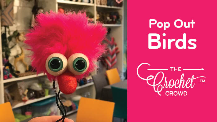 Pop Out Bird Crafts
