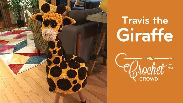 Mikey's Sculpture: Travis The Crochet Giraffe