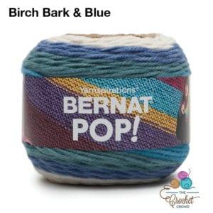 Bernat POP! Birch Bark and Blue