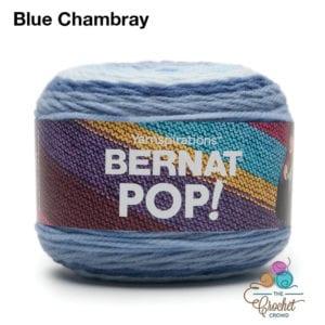 Bernat POP! Blue Chambray