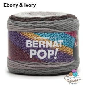 Bernat POP! Ebony & Ivory