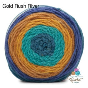 Bernat POP! Gold Rush River
