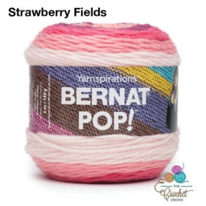 Bernat POP! Strawberry Fields