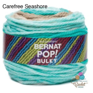 Bernat Pop Bulky Carefree Seashore