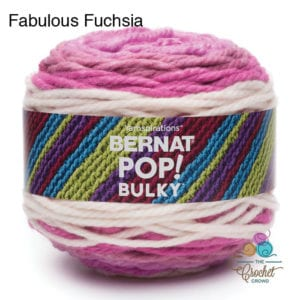 Bernat Pop Bulky Fabulous Fucshia