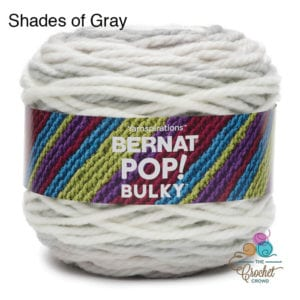 Bernat Pop Bulky Shades of Gray