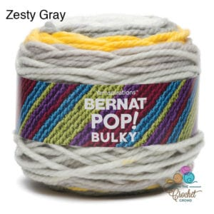 Bernat Pop Bulky Zesty Gray