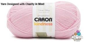 Caron Kindness Yarn Candy Pink