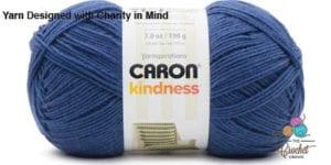 Caron Kindness Yarn Dark Navy
