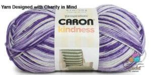 Caron Kindness Yarn Lilac Mist