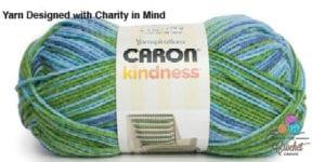 Caron Kindness Yarn Ocean