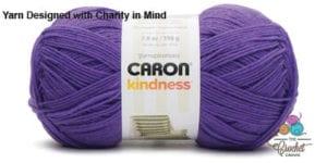 Caron Kindness Yarn Purple