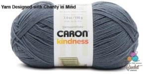 Caron Kindness Yarn Smoke