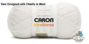 Caron Kindness Yarn Soft White