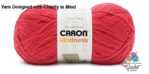 Caron Kindness Yarn Tomato