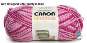 Caron Kindness Yarn Twirling