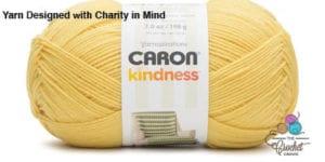Caron Kindness Yarn Yellow