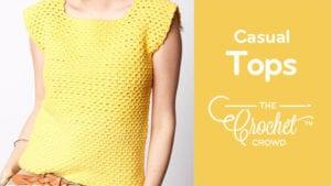 Casual Crochet Tops