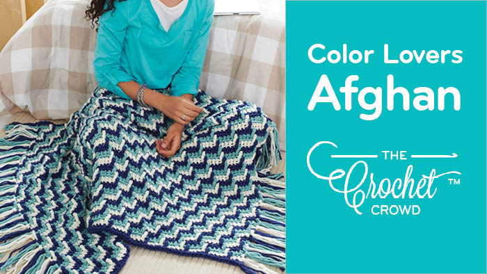 Crochet Colour Lovers Afghan Pattern + Tutorial
