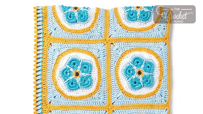 Crochet Forget Me Knot Afghan