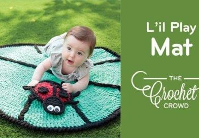 Crochet L'il Leaf Playmat