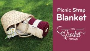 Crochet Picnic Strap Blanket