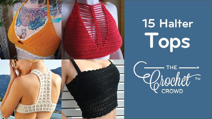 15 Crochet Halter Top Ideas