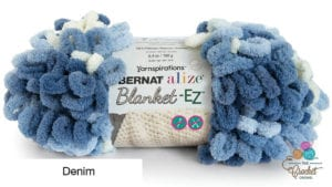Bernat Alize Blanket EZ Denim Yarn