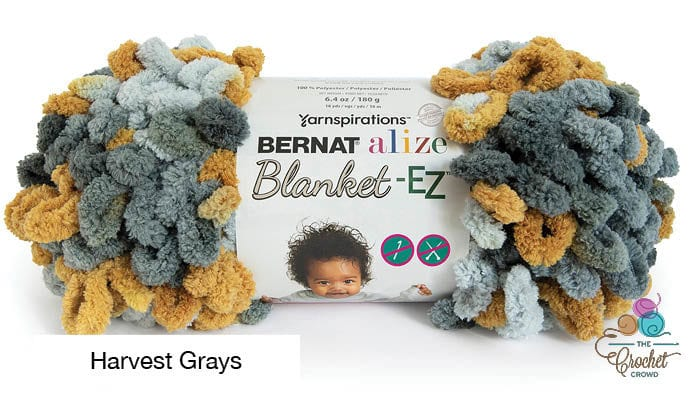 Bernat Alize Blanket EZ Harvest Grays Yarn
