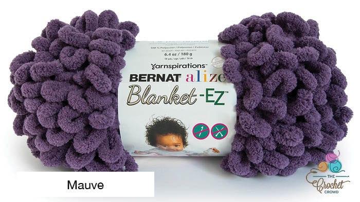 Bernat Alize Blanket EZ Mauve Yarn