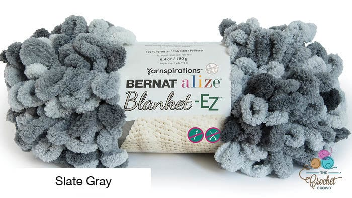 Bernat Alize Blanket EZ Slate Gray Yarn
