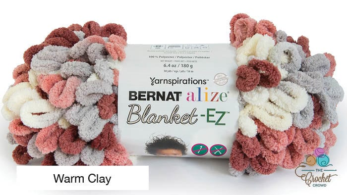 Bernat Alize Blanket EZ Warm Clay Yarn