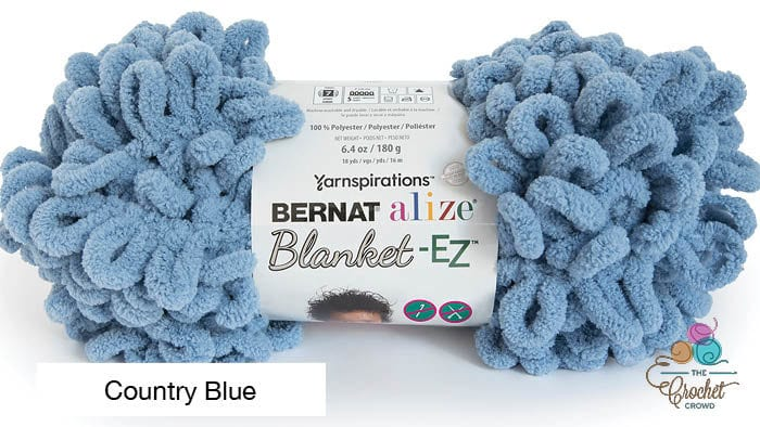 Bernat Alize Blanket EZ Yarn Country Blue