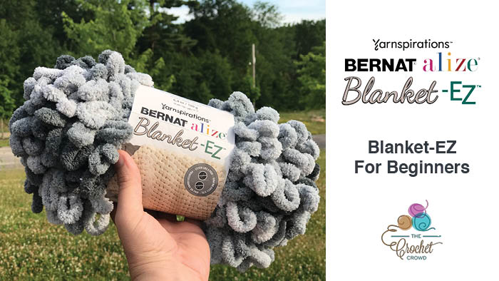 Bernat EZ Blanket EZ for Beginners