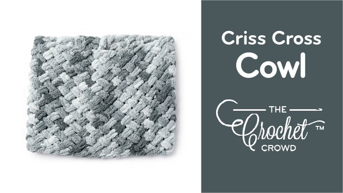 EZ Criss Cross Cowl Pattern