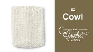 EZ Cowl with Bernat Alize Blanket EZ