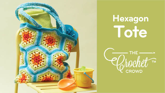 Crochet Hexagon Tote