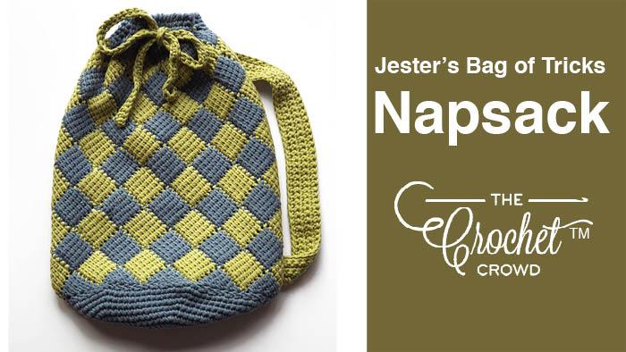 Crochet Jester's Bag of Entrelac Tricks + Tutorial   The Crochet Crowd
