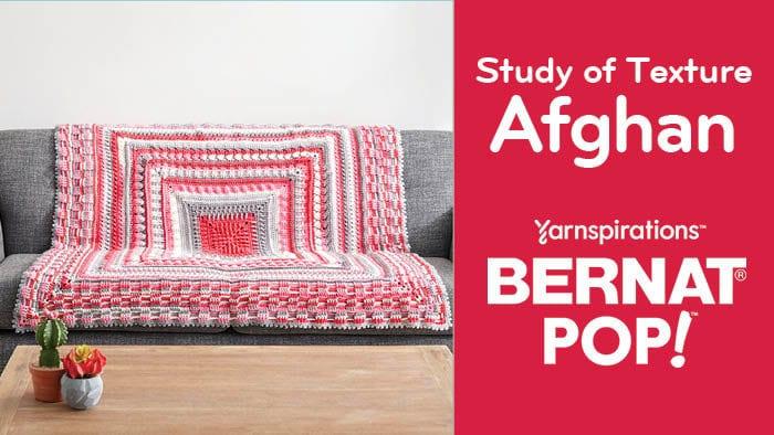 Crochet Study of Texture Afghan
