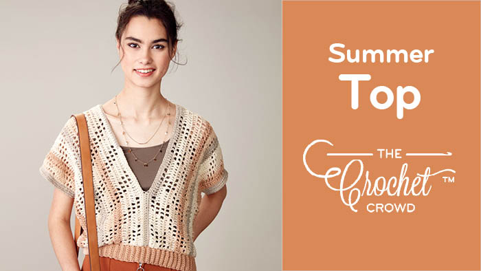 Crochet Summer Breeze Top