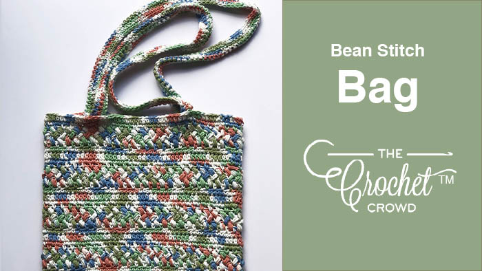 Crochet Bean Stitch Bag