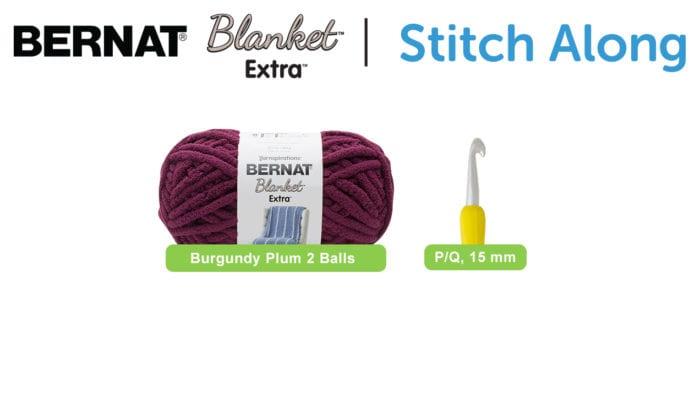 Bernat Blanket Extra Stitch Along