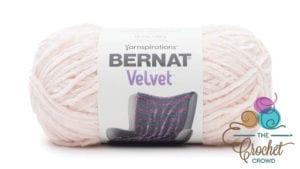 Bernat Velvet Blush Pink Yarn