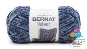 Bernat Velvet Indigo Velvet Yarn
