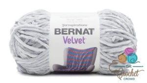 Bernat Velvet Misty Grey Yarn