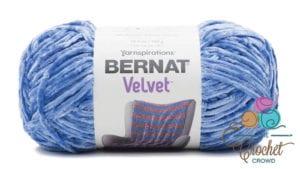 Bernat Velvet Rich Blue Yarn