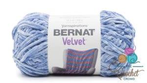 Bernat Velvet Smokey Blue Yarn