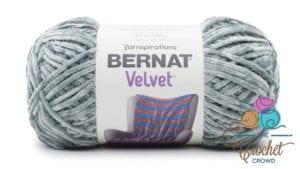 Bernat Velvet Smokey Green Yarn